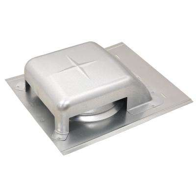 40 sq. in. NFA Galvanized Slant-Top Roof Louver Static Vent in Mill (Sold in Carton of 9 only)