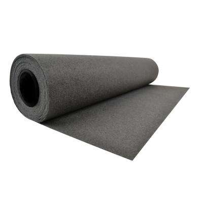All Purpose Black 24 in. x 20 ft. Reusable Runner