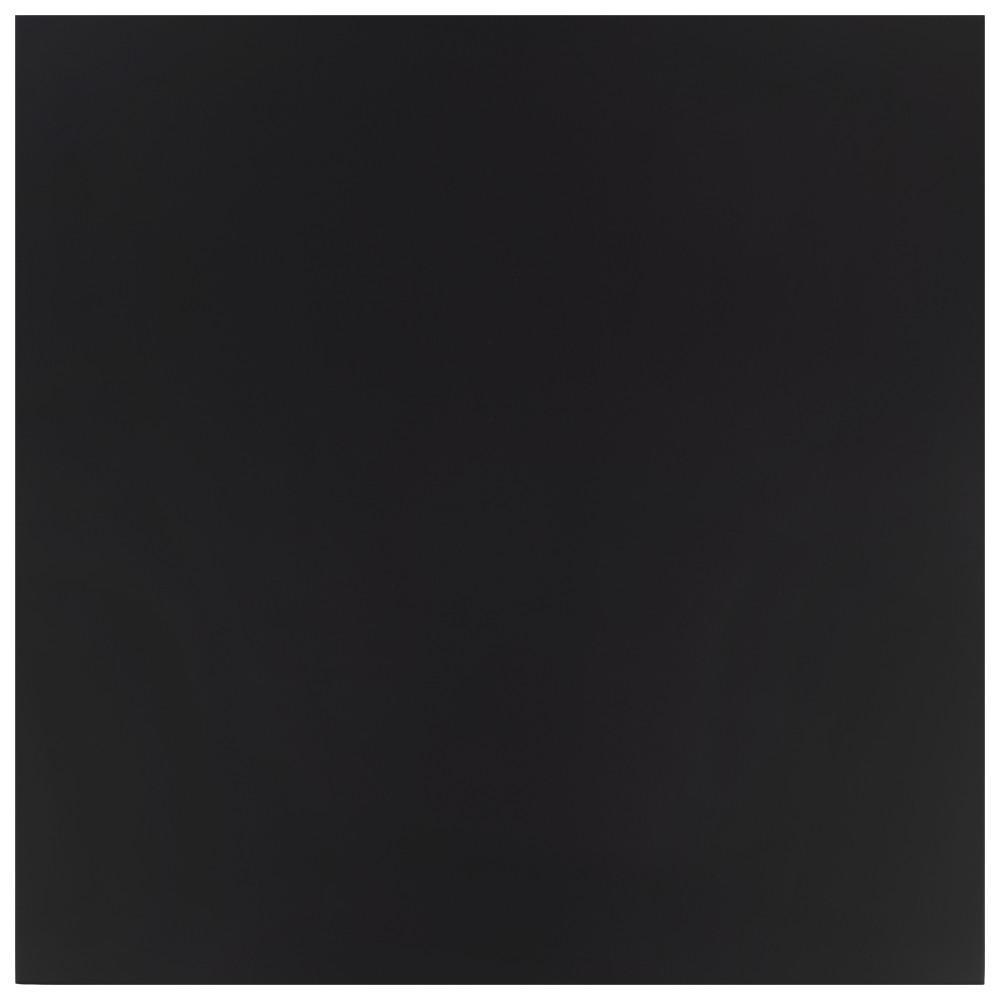 Klavier Matte Black 17-7/8 in. x 17-7/8 in. Porcelain Floor and