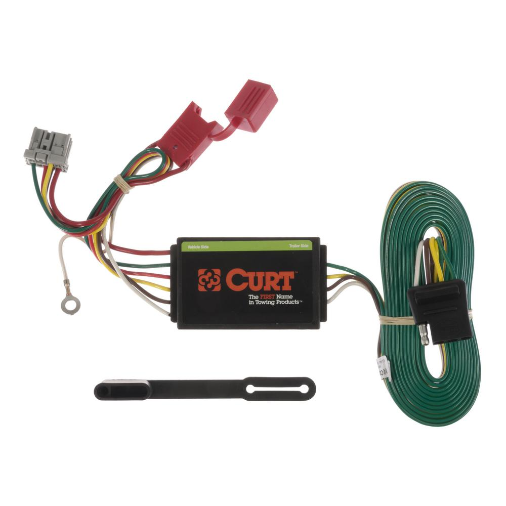 CURT Custom Wiring Connector (4-Way Flat Output) on