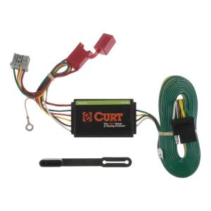 CURT Custom Vehicle-Trailer Wiring Harness, 4-Way Flat Output, Select Honda  CR-V, Quick Electrical Wire T-Connector-56158 - The Home Depot