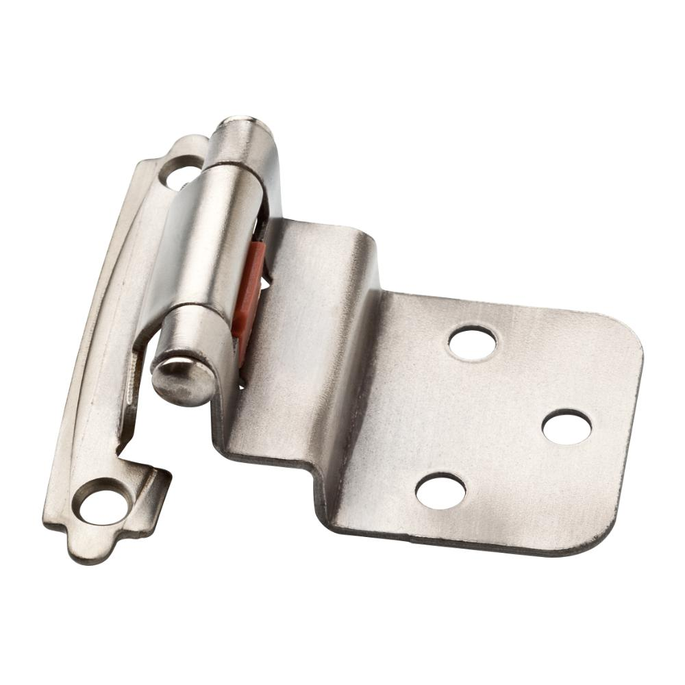 Liberty Antique Pewter Self-Closing 3/8 in. Inset Cabinet Hinge (1 - Liberty Antique Pewter Self-Closing 3/8 In. Inset Cabinet Hinge (1