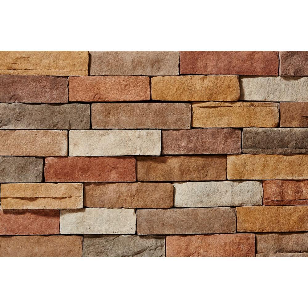 3 8 Inch Stone With Stone Dust : Clipstone ledgestone sand corners in