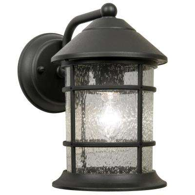 Sunset Black Outdoor Wall Lantern