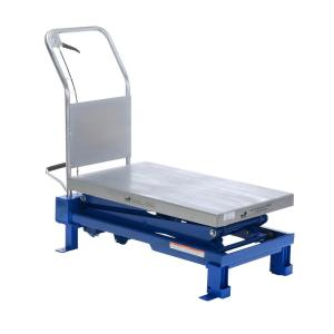 Vestil 20 inch x 36 inch 800 lb. Capacity Foot Pulp Scissor Lift Table by Vestil