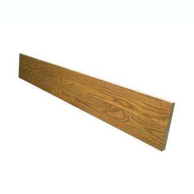 0.75 in. x 7.5 in. x 36 in. Prefinished Marsh Red Oak Riser