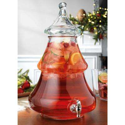 2 Gal. Christmas Tree Shaped Drink Dispenser