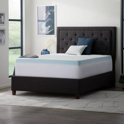Polyester Twin Fitted Topper andMattress Cover