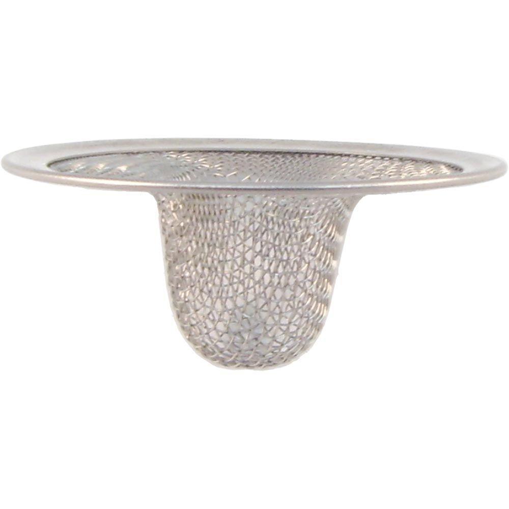 partsmasterpro 2 1 2 in small lavatory mesh sink strainer 58170b rh homedepot com