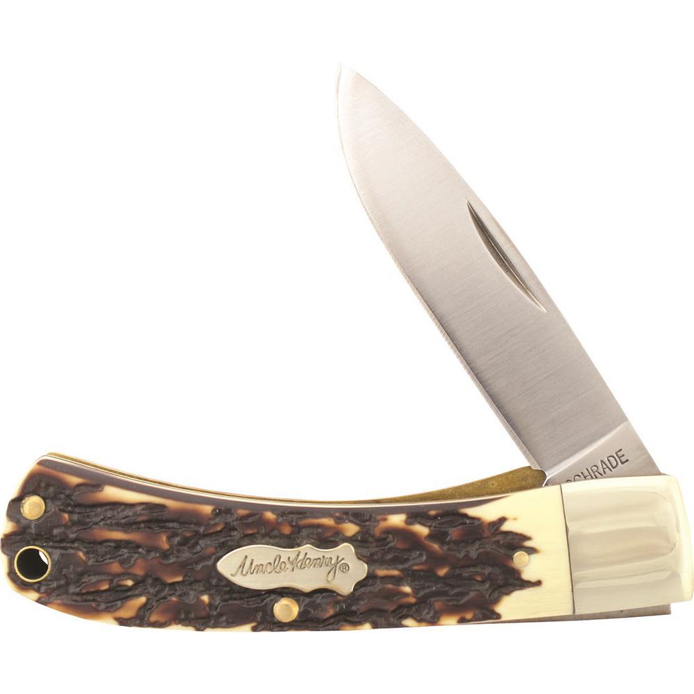 2.8 in. Carbon Steel Carbon Steel Folding Knife