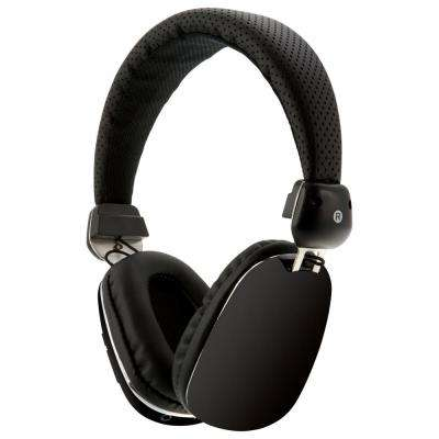 Platinum Bluetooth Wireless Headphone with In-Line Audio, Black