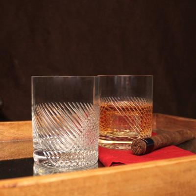 Bourbon Street 14.75 oz. Clear Double Old-Fashioned (Set of 4)