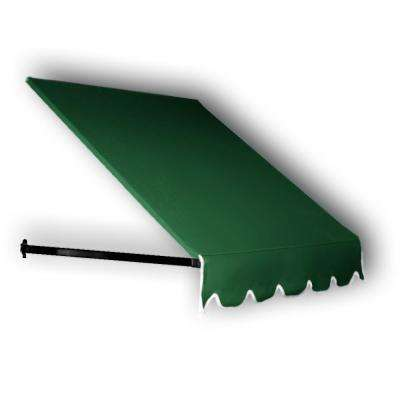 7.38 ft. Wide Dallas Retro Window/Entry Awning (16 in. H x 30 in. D) Forest