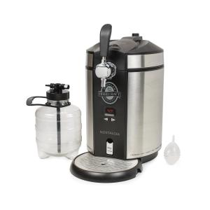 Nostalgia Homecraft On Tap Beer Growler Cooling System, Stainless Steel by Nostalgia