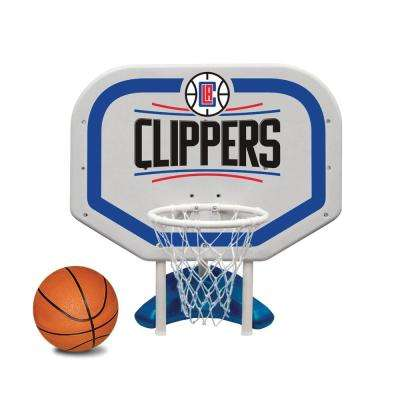 LA Clippers NBA Pro Rebounder Swimming Pool Basketball Game