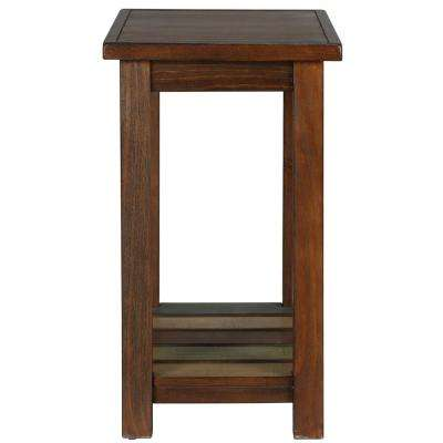Tahoe Espresso Accent Table