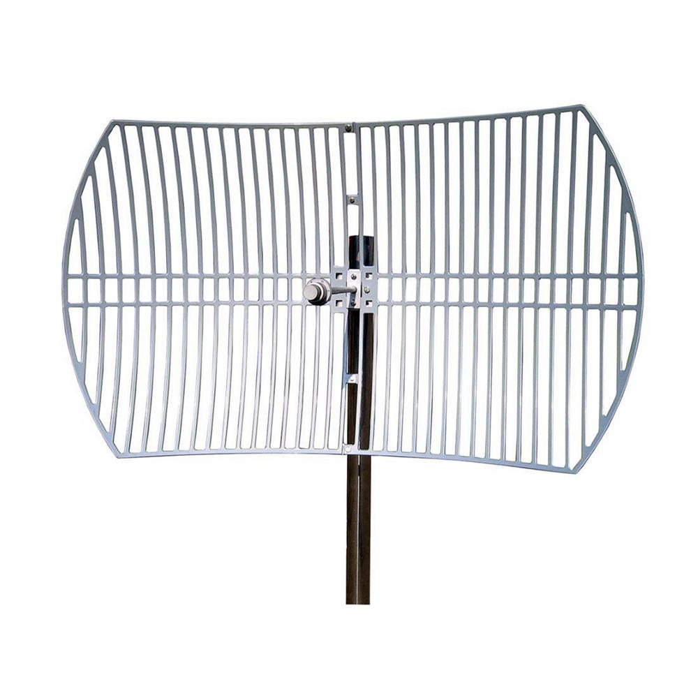 Homevision Technology Turmode Grid Parabolic Wi-Fi Antenna for 5.8GHz Turmode WAG58293 WiFi Antenna is designed to increase the signal strength and range of your 5.8 GHz 802.11b/g/n Wi-Fi device. This high gain antenna can provides further coverage for your Wi-Fi devices such as routers, adapters, access points and repeaters. So you can expand your network for reliable coverage throughout your home.