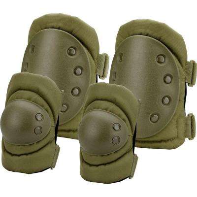Loaded Gear Olive Drab Green Polyester CX-400 Elbow and Knee Pads