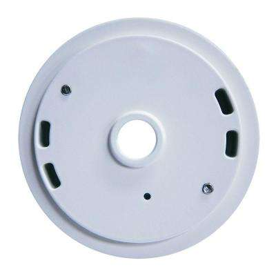 Outdoor LED Flood Adapter Plate - White