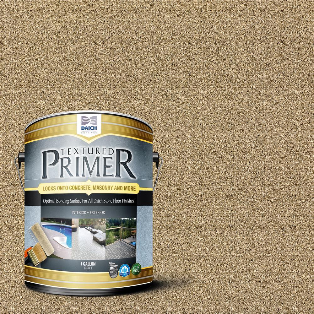 DAICH Textured 1 gal. Antique Gold Interior Exterior Bonding Primer Penetrating Anti-Slip