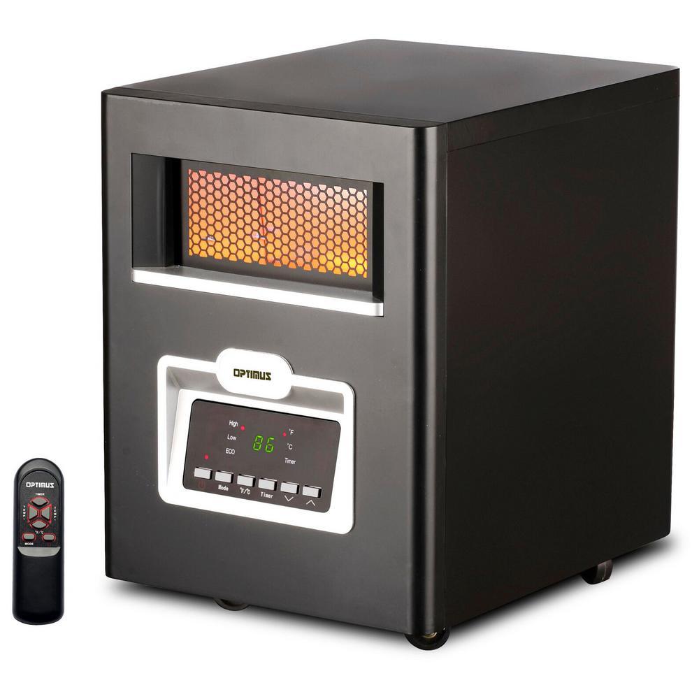 Infrared Quartz Heater with Remote Control