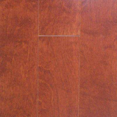 Take Home Sample - Birch Cognac Engineered Click Wood Flooring - 5 in. x 7 in.