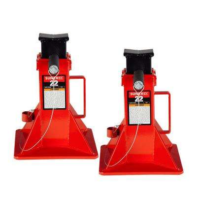 22-Ton Jack Stands (Pair)