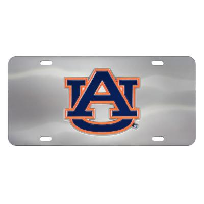 Clemson Tigers Diamond License Plate Tin Sign 6 x 12in