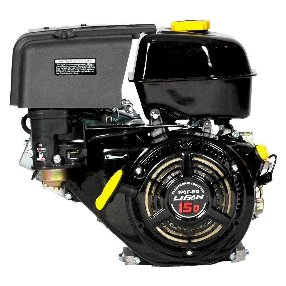 LIFAN 15 HP 420 cc Horizontal Shaft Engine-DISCONTINUED