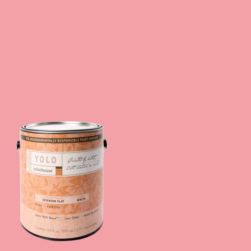 YOLO Colorhouse 1-gal. Petal .03 Flat Interior Paint-DISCONTINUED