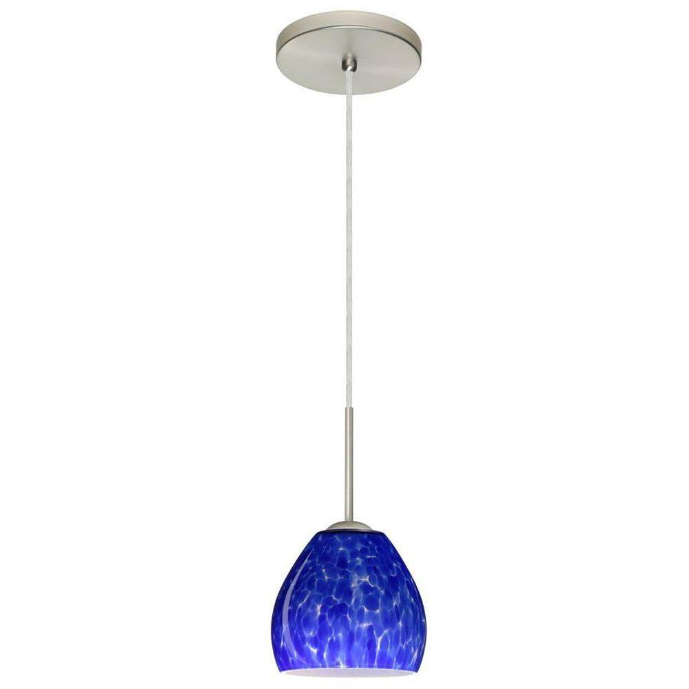 Filament Design Manhattan 1-Light Satin Nickel Pendent