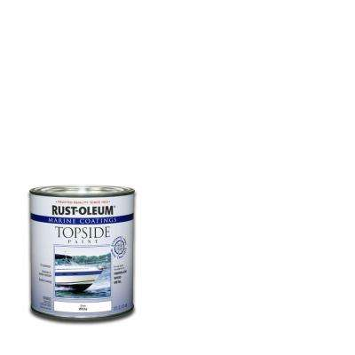 1 qt. White Gloss Topside Paint (Case of 4)