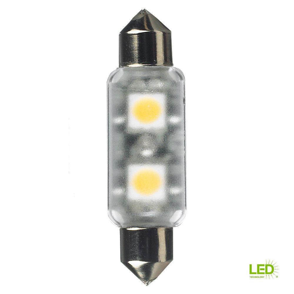 24-Volt LED Frosted T3 Festoon Lamp (2700K)