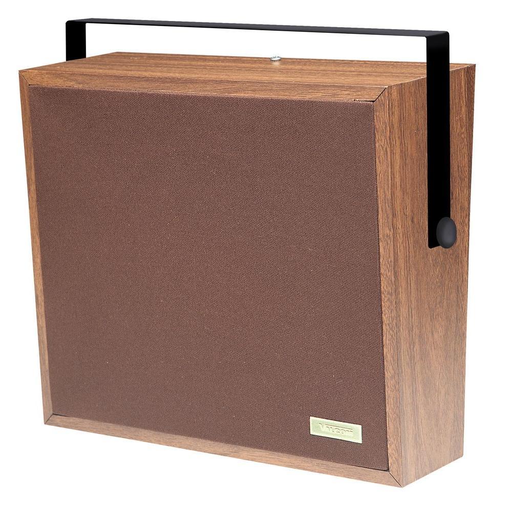1-Way Woodgrain Corridor Speaker - Weave