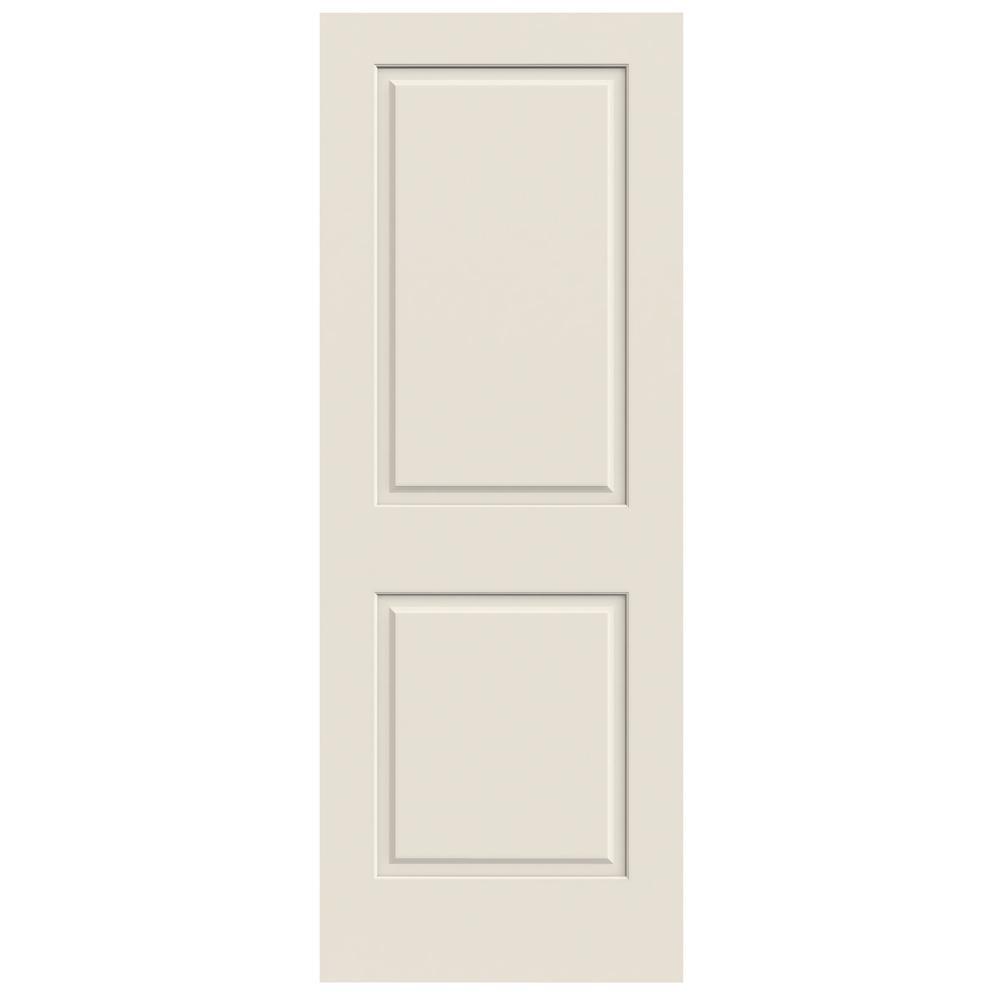 Jeld Wen 24 In X 80 In Primed C2020 2 Panel Solid Core Premium Composite Interior Door Slab