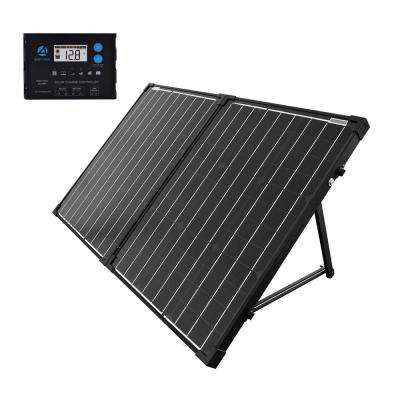 100-Watt Portable Briefcase OffGrid Solar Panel Kit with ProteusX 20-Amp Charge Controller