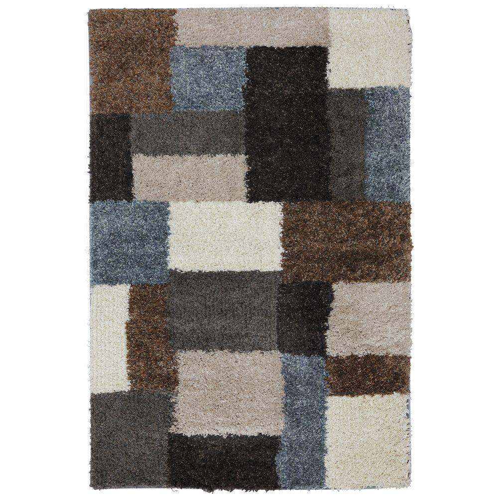 Mohawk Home Franklin Gray Woven 6 Ft. 6 In. X 10 Ft. Area