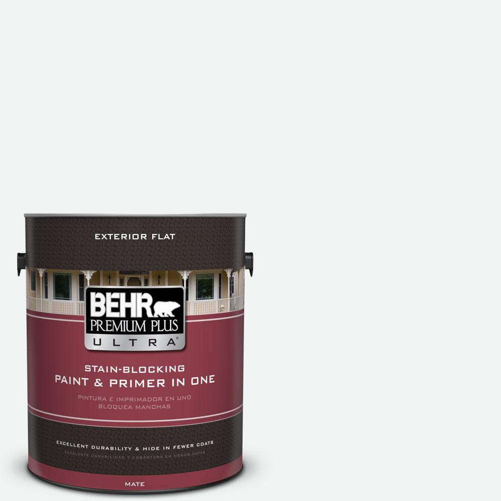 BEHR Premium Plus Ultra 1-gal. #T13-14 Heavy Sugar Flat Exterior Paint