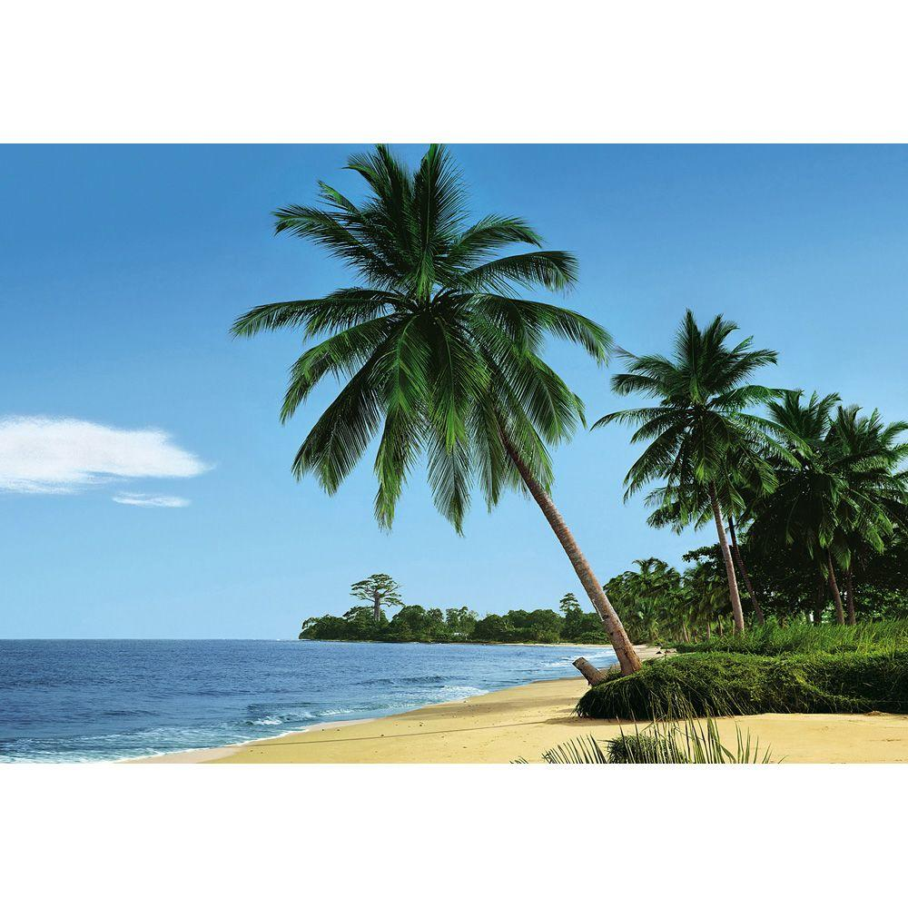 Komar 106 in. x 153 in. African Beach Wall Mural