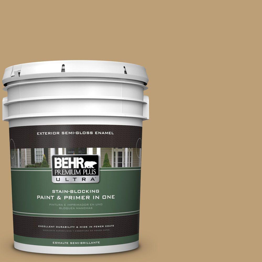 BEHR Premium Plus Ultra 5-gal. #320F-5 Mesa Semi-Gloss Enamel Exterior Paint