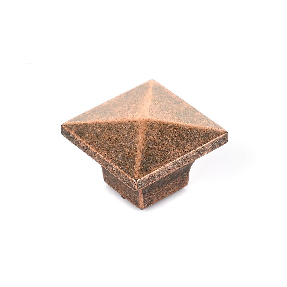 Delicieux Richelieu Hardware 1 1/4 In. Antique Copper Cabinet Knob