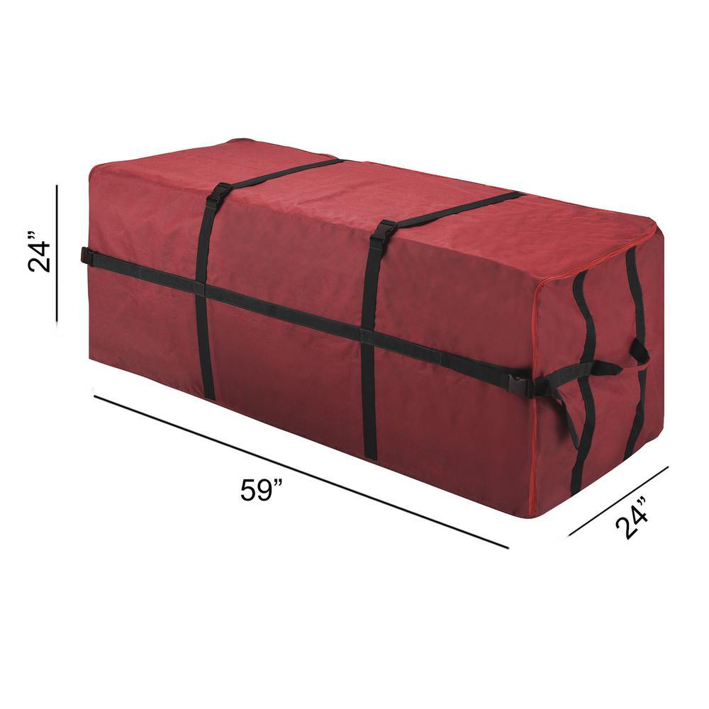 Christmas Tree Storage.Elf Stor Deluxe Heavy Duty Christmas Tree Canvas Storage Bag For 9 Ft Tree