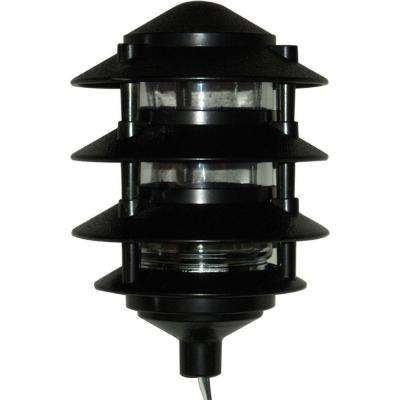 4 Tier Path Light - Black