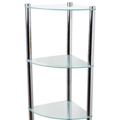 11.70 in. W x 16.50 in. D Corner Shelf