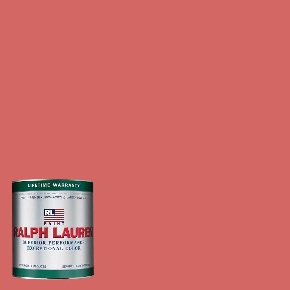 Ralph Lauren 1-qt. China Pink Semi-Gloss Interior Paint