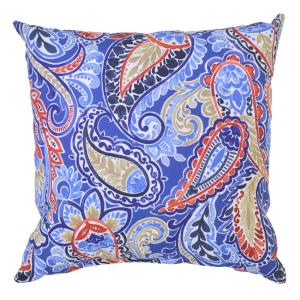 Mariner Paisley Square Outdoor Throw Pillow
