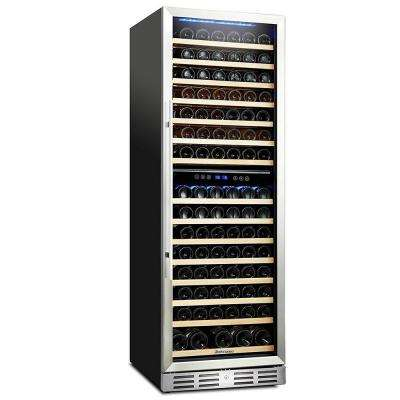 157 Bottle Built-In Wine Refrigerator with One-Touch Control with LED Display