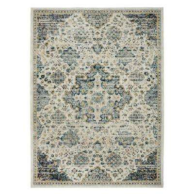Gedeon Cream 9 ft. 6 in. x 12 ft. 11 in. Indoor/Outdoor Area Rug