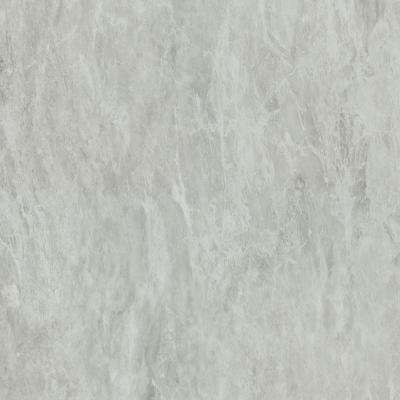 5 in. x 7 in. Laminate Countertop Sample in White Bardiglio with Matte Finish