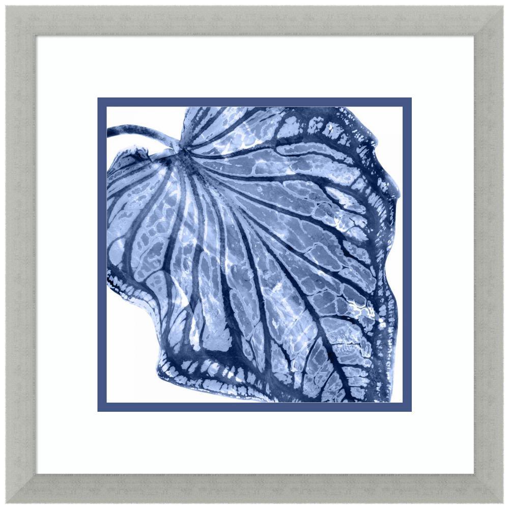 Amanti Art Tropical Indigo Palm III by Melonie Miller Framed